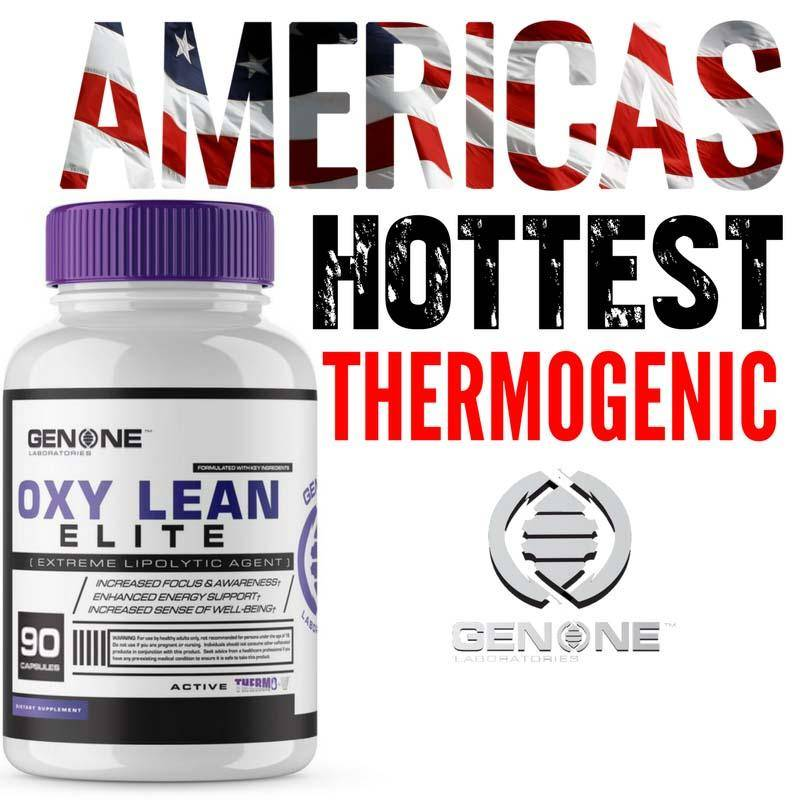 Genone OXY Lean ELITE (Oxy Shredz) .Original Fat Burner ENERGY Focus 90 caps