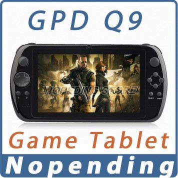 GPD Q9 GamePad Game Tablet PC RK3288 7'' Android 4.4 Quad Core Game Handheld Console 2GB/16GB 3D Game Player 0.3MP Camera