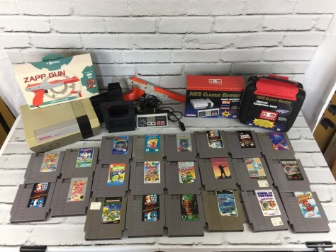 NES Classic Edition Mini New & Original NES System W/ 22 Games US Seller Bundle
